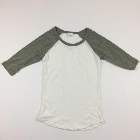 379579fb89c Blue Lemon Tops | Green White Flirty Baseball Tee Shirt | Poshmark